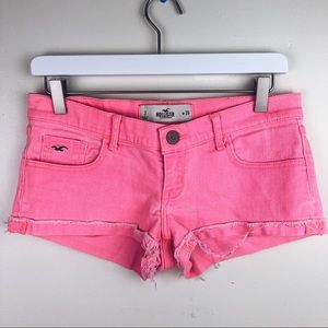 Hollister | Pink Jean Shorts